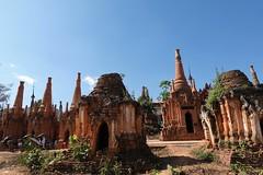 Nyaung Ohak pagodas, Inthein (27)
