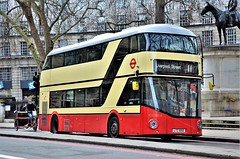 LT50 (stavioni) Tags: tfl london transport routemaster new boris borismaster wrightbus wright hybrid nb4l double decker bus general lt50 ltz1050