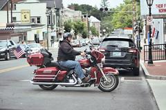 "2017-06-03 (19) crossing from alley to alley in Gettysburg PA (JLeeFleenor) Tags: photos photography pa gettysburgpa gettysburg pennsylvania town downtown street motorcycle bike ""αυτοκίνητο ποδήλατο"" μοτοσυκλέτα 摩托车 机车 摩托車 機車 ""دراجة نارية"" نارية صغيرة"" بموتور"" motocicleta мотоцикл motosiklet motocicletta motocyclette moto motorrad ""オートバイ"" אופנוע beard red harley flag"