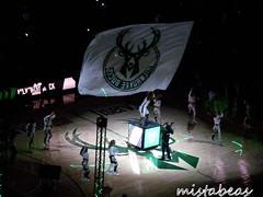 Waving The Flag Once More (mistabeas2012) Tags: milwaukee bucks nba