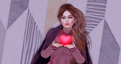 ♔ Pure Heart (Rachel Acoustic) Tags: tres chic nomatch hair bossie lisa walker eclipse design bishes inc kokoro poses