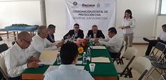 Conforme a la Ley Estatal de ProtecciónCivil y Gestión Integral de Riesgos se desarrolla la Sesión de Junta Directiva
