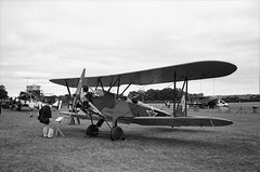 Ricoh 500RF - Agfa APX 100 (24) (meniscuslens) Tags: russian biplane aeroplane aircraft grass airfield airstrip propellor sky shuttleworth vintage bedfordshire film camera ricoh 500rf agfa apx