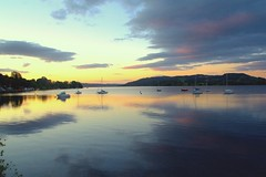 Sun Up (TERRY KEARNEY) Tags: skyline sky reflections waterway watercourse water waterfront boats yachts mountains hillside hills sunshine sunrise sunup clouds ambleside cumbria lakewindermere lake lakedistrict canoneos1dmarkiv canon daylight day explore europe england kearney skies landscape langdalepikes pikes nature oneterry outdoor terrykearney rural wildlife weather 2019