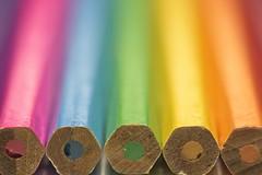Rainbow (Hans Lambregts) Tags: lookingcloseonfriday pencils
