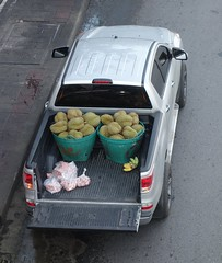 durians (the foreign photographer - ฝรั่งถ่) Tags: pickup truck durians phahoyolthin road bangkhen bangkok thailand