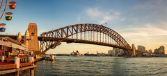 Sydney (www.cornelia-schulz-photography.com) Tags: sydney sunset city cbd beautiful bridge australia