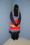 Slave Maid (Warm Clothes Fetish) Tags: hijab niqab girl warm hot sweat torture coat apron fleece fur boots winter rubber rubberboots slave maid waitress