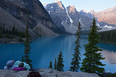 Happy valentines day (drafiei1) Tags: sunrise morainelake landscape lake lakelouise banff banffnationalpark valentines love trees mountain companion girlfriend boyfriend sweetheart sweet couples couplegoals morning canada nikon moraine
