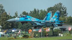 Su-27UB1M (kamil_olszowy) Tags: su27ub1m flanker fighter trainer radom air show 2018 piksel 71 ukraine force 831s tactical aviation brigade sukhoi су27уб1м бригада тактичної авіації військовоповітряні сили україни ввс украинй сухой
