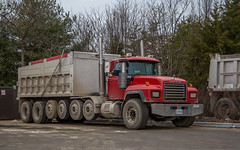 Mack RD Series (NoVa Truck & Transport Photos) Tags: mack rd series dump truck woodbridge va vocational big rig