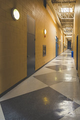 Hallway (A Great Capture) Tags: agreatcapture agc wwwagreatcapturecom adjm ash2276 ashleylduffus ald mobilejay jamesmitchell toronto on ontario canada canadian photographer northamerica torontoexplore winter l'hiver 2019 centreforfilmandtheatre yorkuniversity interior hall hallway pov yorku lights york school university indoors diamond tile floor canon eos 6d mark ii ef2470mm 2470mm architecture architektur arquitectura design