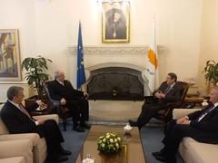 Επίσκεψη Υφυπουργού Εξωτερικών, Τέρενς Κουίκ, στη Λευκωσία (01.02.2019) (Υπουργείο Εξωτερικών) Tags: υφυπεξ κουικ λευκωσια αναστασιαδησ κυπροσ