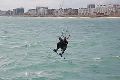 2018_08_15_0045 (EJ Bergin) Tags: sussex westsussex worthing beach seaside westworthing sea waves watersports kitesurfing kitesurfer seafront lewiscrathern