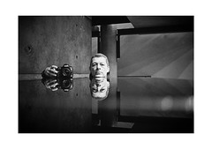 Hello! (Thomas Listl) Tags: thomaslistl blackandwhite biancoenegro noiretblanc monochrome filmphotography film ilford minolta minoltax700 analog portrait mirror grandpiano jazzinbaggies arminfuchs canon hp5 ilfordhp5 reflection face human music light bonpointjohncage
