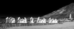 Ghost Mine of Rhyolite, Nevada, USA (Tasmanian58) Tags: ghost mine gold rush rhyolite nevada usa antic vintage art artcraft geology mountain rocks rock bw nb noirblanc blackwhite landscape zeiss batis sony a7ii