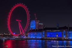 London Eye (adventurousness) Tags: night photography nighttime london england britain great gb greatbritain nightphotography