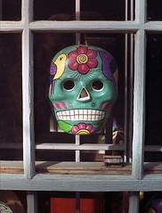 mask (Mike Connealy) Tags: yashicalynx14 yashinondx1445mm kodakcolorplus200 unicolorc41 albuquerque oldtown