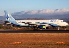 XA-YES Interjet A320 (twomphotos) Tags: plane spotting mroc sjo landing rwy07 airbus interjet a320 bestofspotting morning sunrise