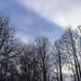 Patch of blue sky