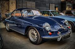 1962 PORSCHE 356 B Carrera 2000 GS (Peters HDR hobby pictures) Tags: petershdrstudio hdr classiccar car porsche blue auto blau sportwagen oldtimer klassiker