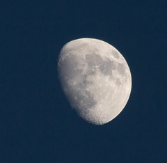 Waxing Gibbous Moon 15 Feb 2019 (Sculptor Lil) Tags: 80illuminated moon london waxinggibbous canon700d