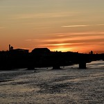 Sunset over the Old Bridge thumbnail
