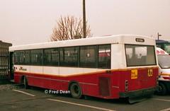 Bus Eireann KS227 (2YZU). (Fred Dean Jnr) Tags: buseireann ks227 2yzu zu broadstonedepotdublin february1998 ks2 kr227 bombardier gac