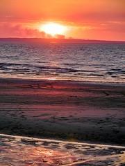 Sonnenuntergang auf Fraser Island (Sanseira) Tags: australien australia fraser island sun sunset sonnenuntergang rauch buschfeuer