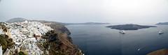 Santorini View (Worthing Wanderer) Tags: greece santorini island volcano sea aegean lagoon caldera