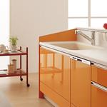 キッチン扉と色選びツールの写真