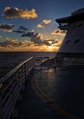 #2639 Sunrise (Rmonty119) Tags: sunrise ship canon eosr skylum aurora lightroom water sky sun travel