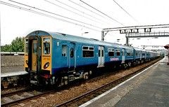 317708 Stansted Express Electric Unit. (ManOfYorkshire) Tags: class317 electric unit emu stansted express train railway revised modernised front end design multiple 317708