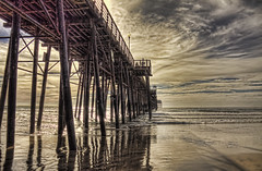 Sunset Pier Walkabout11-1-8-19 (rod1691) Tags: oceanside pier about sunset low tide beach