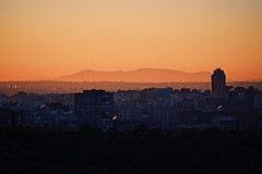 (Kristen Leary) Tags: photoshop vsco city skyline spaintravel europetravel europe sky colors nikkor nikond3300 nikon landscapephotography landscape sunset españa spain madrid