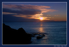 Sunset on the Golfo Paradiso (cienne45) Tags: carlonatale cienne45 natale genoa liguria italy mulinetti recco golfoparadiso tramonto sunset