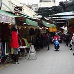 Riding along the walking street in Hualien thumbnail