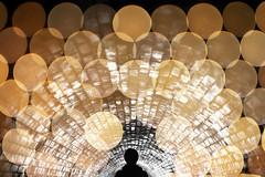 Sewage & Sparkles (mikedeere) Tags: silhouette bokeh portrait underground tunnel sewer london uk prime