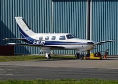 2-MLBU Piper PA-46 Malibu (SteveDHall) Tags: aircraft airport aviation airfield aerodrome aeroplane airplane generalaviation ga 2019 blackpool blackpoolairport egnh blk bpl 2mlbu malibu pa46malibu piperpa46malibu pa46 piperpa46 hangar3