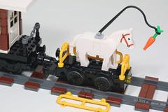 Horse Treadmill Locomotive