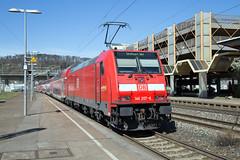 DB Regio 146 207 Plochingen (daveymills37886) Tags: db regio 146 207 plochingen baureihe bombardier traxx