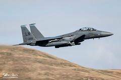 USAF Boeing F-15E Strike Eagle 96-0205 low level at Ullswater (NDSD) Tags: low level boeing f15e strike eagle usaf ullswater cumbria flying jet raf lake district lakenheath