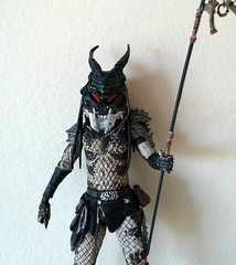 Neca Predator2 Shaman w/ Clan Leader mask (ok2la) Tags: predator shaman mask 20190413182819 predator2 clan leader action figure neca movie