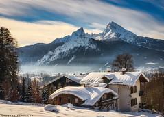Lost Place: snow thick like whipped cream (Robert Schüller) Tags: watzmann berchtesgaden winter snow bavarianalps
