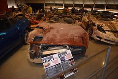 1984 CORVETTE (SneakinDeacon) Tags: chevrolet corvette museum autos automobile bowlinggreen