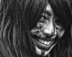 almost kowaii (gro57074@bigpond.net.au) Tags: 2019 february shimokitazawa artseries sigma d850 nikon soybeans setsubun monochrome monotone mono blackwhite bw face f14 105mmf14 streetportrait inthestreet japanese japan woman portrait guyclift almostkowaii
