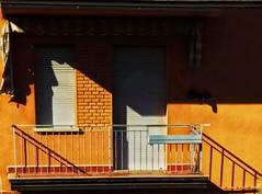 Absence (elisabettasoloelisabetta) Tags: bologna streetphotography colors light shadow lightandshadow minimal minimalistic minimalismo minimalshot minimalstyle minimalmood minimalissimo minimalhunter minimalove minimalphotography
