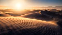 Sandstorm (Ryan_Buchanan) Tags: dune dunes death valley california sand wind ryan buchanan exposurescape sunset glow