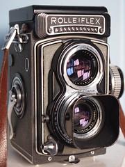 Rolleiflex T (cycle.nut66) Tags: rolleiflex t twin lens reflex camera german light meter grey classic tessar olympus epl1 micro four thirds mzuiko