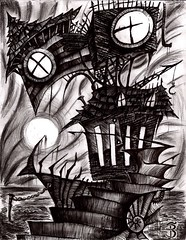 On the Nature of Despair (Skyler Brown Art) Tags: angst architecture art artwork bw blackwhite blackandwhite charcoal creepy dark darkness depressing dramatic drawing emo emotional goth gothic greyscale ink macabre ominous paper pen